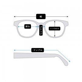 Thick Clishe Woman Glasses